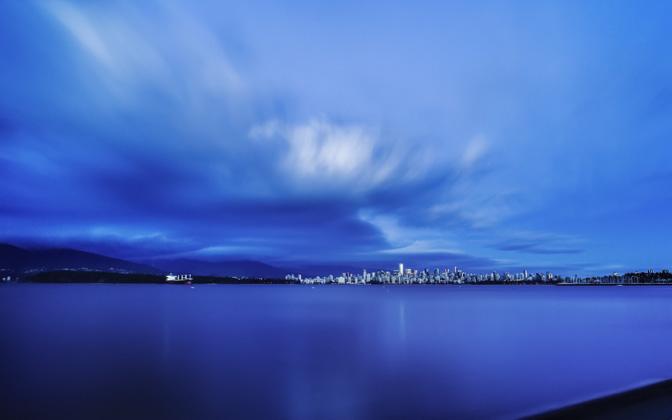 High-resolution desktop wallpaper Clouds of Time by Mohsen Kamalzadeh
