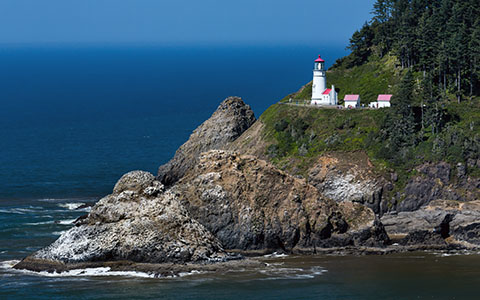 High-resolution desktop wallpaper Heceta Head by Robert Bynum