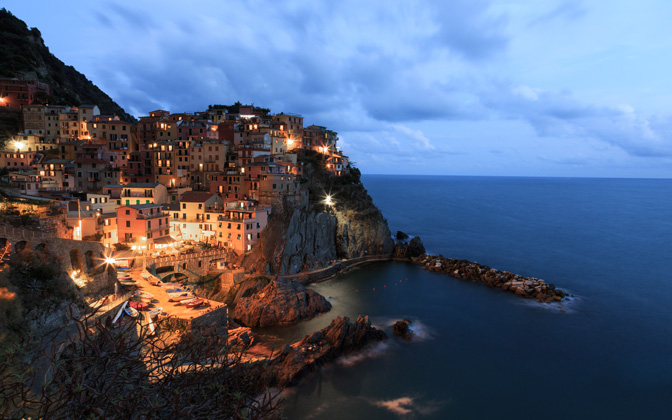 High-resolution desktop wallpaper Manarola 5 Terre by Samuel84