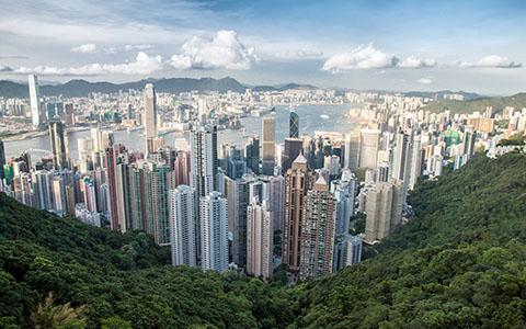 High-resolution desktop wallpaper Hong Kong by Naiirb