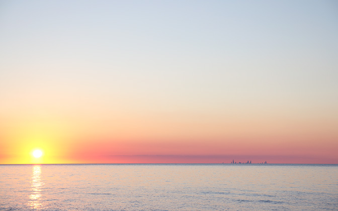 High-resolution desktop wallpaper Chicago from Indiana by ZiemowitP