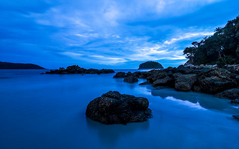 High-resolution desktop wallpaper Kata Beach at Dusk by Daniel Jiang