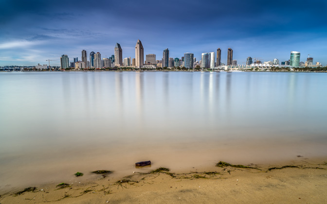 High-resolution desktop wallpaper San Diego by asphericaldream