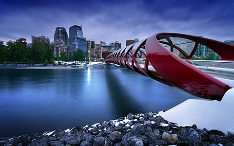 High-resolution desktop wallpaper Peace Bridge by Mohsen Kamalzadeh