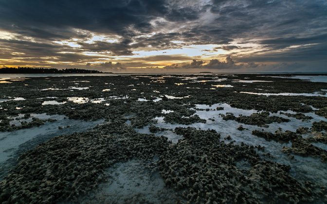 High-resolution desktop wallpaper Coral Sunset by andrewsparrow