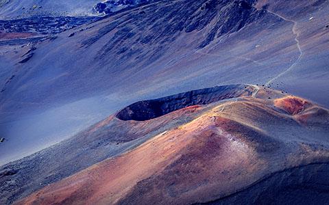 High-resolution desktop wallpaper Crater Path by jdphotopdx