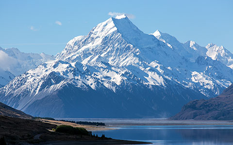 High-resolution desktop wallpaper Mount Cook by Oliver Buettner // Ascalo Photography