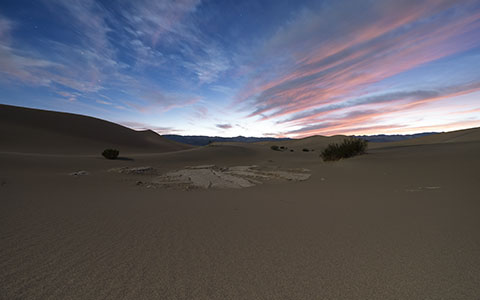 High-resolution desktop wallpaper Twilight in Death Valley by Persons0