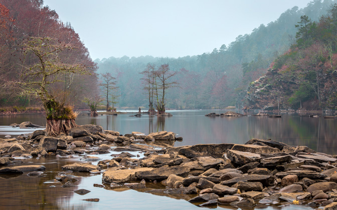 High-resolution desktop wallpaper Beavers Bend State Park by anthonyfordphotography