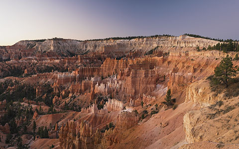 High-resolution desktop wallpaper Bryce Canyon at Dawn by Persons0