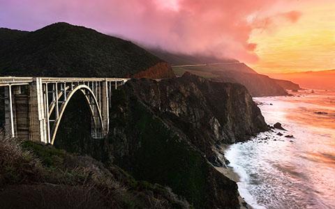High-resolution desktop wallpaper California Colors by Lowe Rehnberg