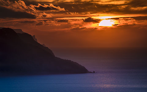 High-resolution desktop wallpaper Sunset in Palma by Emmanuel Iarussi