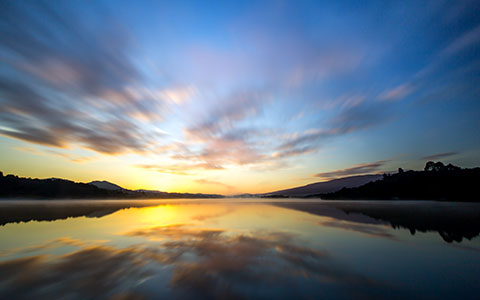 High-resolution desktop wallpaper Upper Crystal Springs Reservoir by John