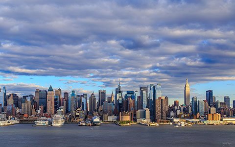 High-resolution desktop wallpaper Autumn Sky in New York by WJ