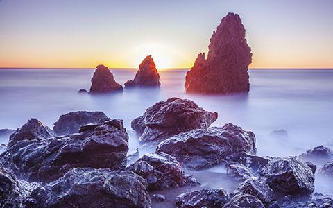 High-resolution desktop wallpaper Sunset by maru45