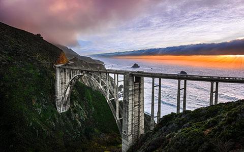 High-resolution desktop wallpaper Following the Coastline by Lowe Rehnberg