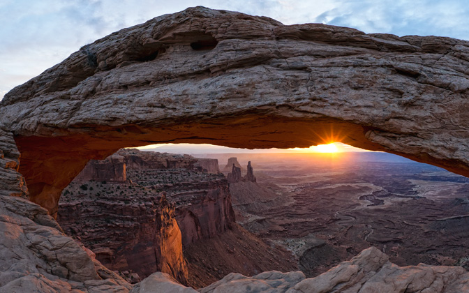 High-resolution desktop wallpaper Mesa Arch by Persons0