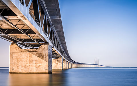 High-resolution desktop wallpaper Oresund Bridge by Sirdjorgo