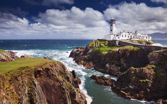 High-resolution desktop wallpaper The Fanad Lighthouse by TheWanderingSoul