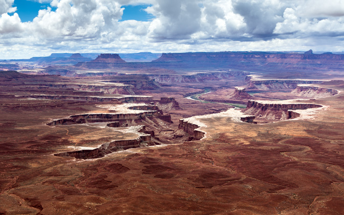 High-resolution desktop wallpaper Canyonlands by Andre Richter