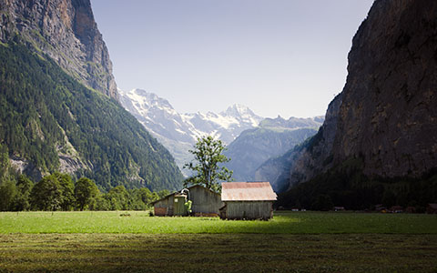 High-resolution desktop wallpaper Lauterbrunnen by giel