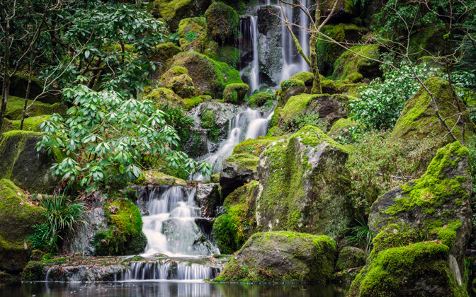High-resolution desktop wallpaper The Japanese Gardens by jdphotopdx