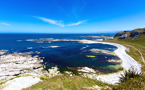 High-resolution desktop wallpaper Kaikoura Coastline by Oliver Buettner // Ascalo Photography