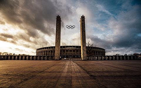 High-resolution desktop wallpaper Olympiastadion Berlin by s1000