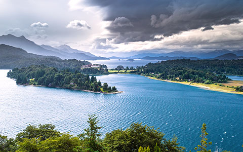 High-resolution desktop wallpaper Panoramic View at Bariloche by bogdan