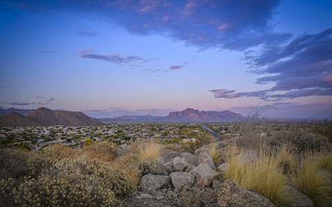 High-resolution desktop wallpaper Superstition Mountains by steve.digirolamo