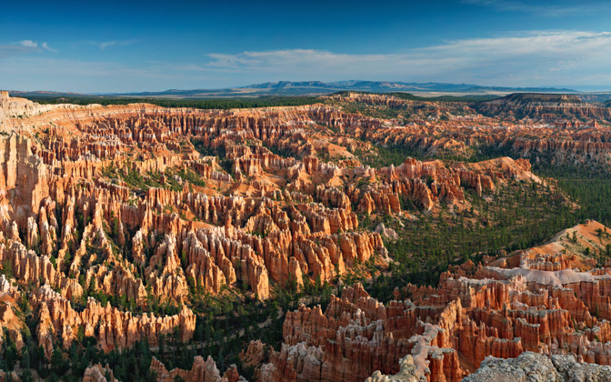 High-resolution desktop wallpaper Sunrise at Bryce Point by geophotography