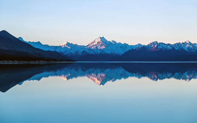 High-resolution desktop wallpaper Reflection on the Lake by Oliver Buettner // Ascalo Photography