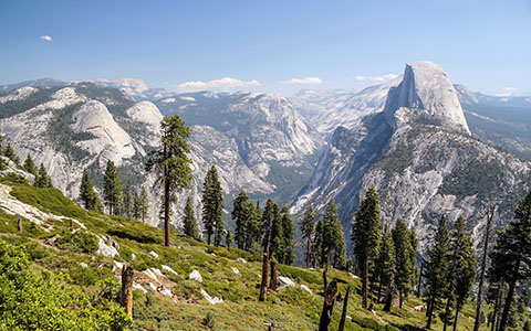 High-resolution desktop wallpaper Half Dome Joy by buzzub