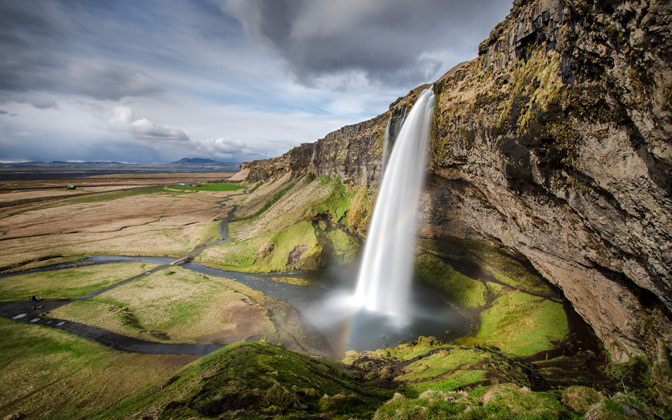 High-resolution desktop wallpaper Seljalandsfoss by deltron