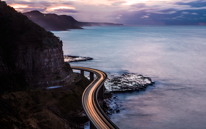 High-resolution desktop wallpaper Coastal Drives by united414