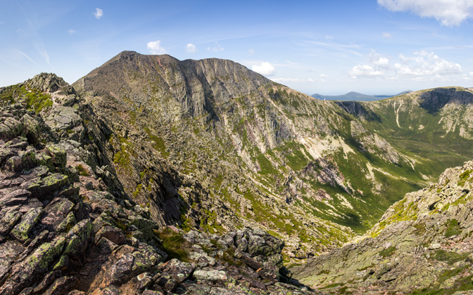 High-resolution desktop wallpaper Mount Katahdin by Paul McWhorter