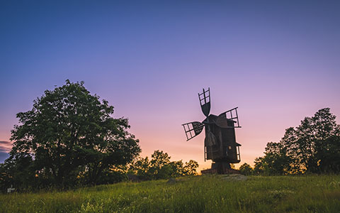 High-resolution desktop wallpaper Windmill windmill, keep on turning... by graphiksi