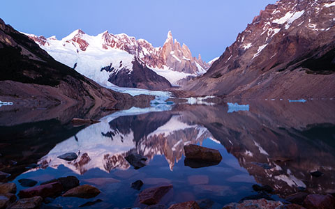 High-resolution desktop wallpaper Cerro Torre by PNWUSA