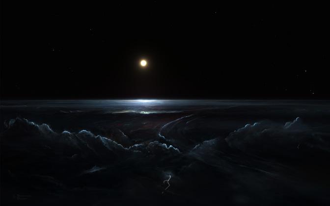 High-resolution desktop wallpaper Merphlyn Planet No. 2 by Starkiteckt