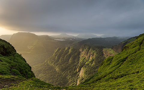 High-resolution desktop wallpaper God's Rays by iamAbhishek