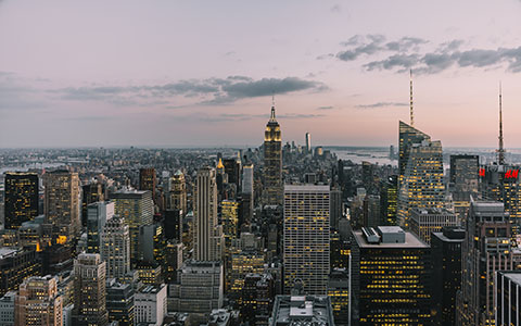 High-resolution desktop wallpaper Rockefeller View by Maikel Claassen