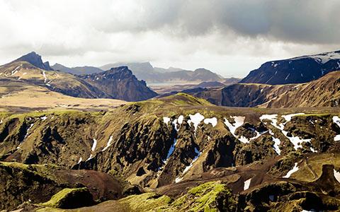 High-resolution desktop wallpaper Þakgil Iceland by dietmarbams