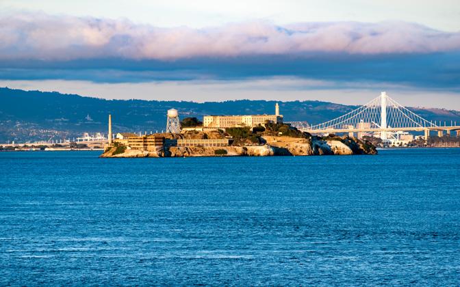 High-resolution desktop wallpaper Alcatraz Island by sbrenner