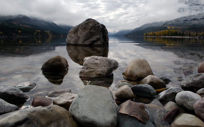 High-resolution desktop wallpaper Fall in Waterton by phennexion