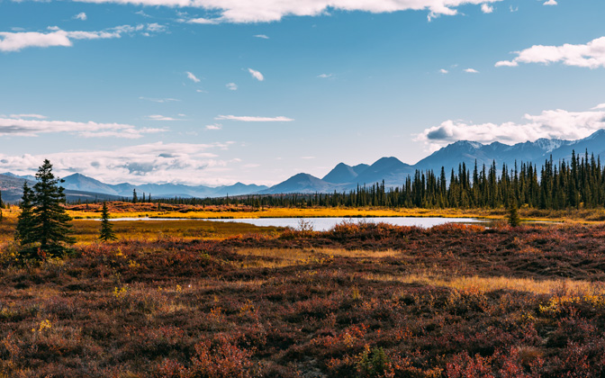 High-resolution desktop wallpaper Autumn in Alaska by Maikel Claassen