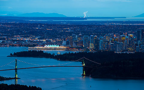 High-resolution desktop wallpaper Lions Gate Bridge by Ritch