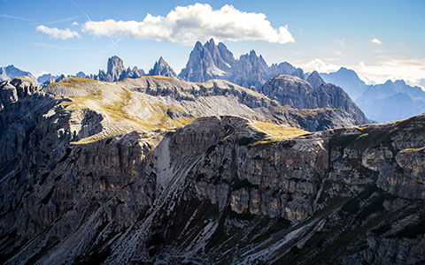 High-resolution desktop wallpaper Rocky Dolomiti by Megalo