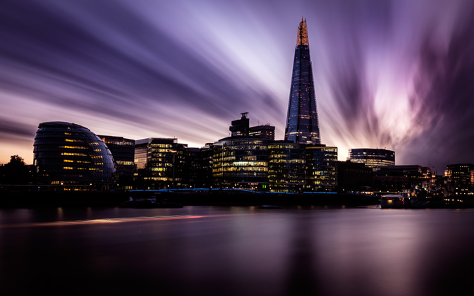 High-resolution desktop wallpaper The Shard by Chokokuka