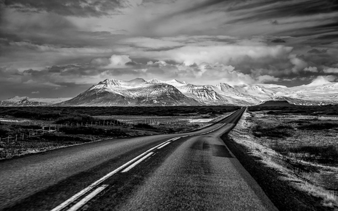 High-resolution desktop wallpaper The Road Ahead by Dominic Kamp