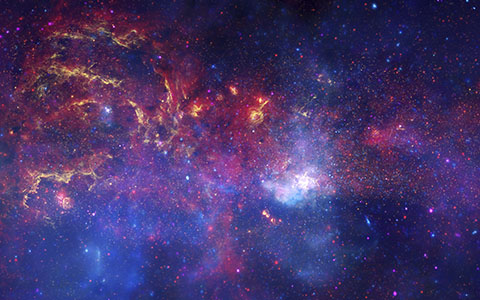 High-resolution desktop wallpaper The Galactic Center by NASA Images